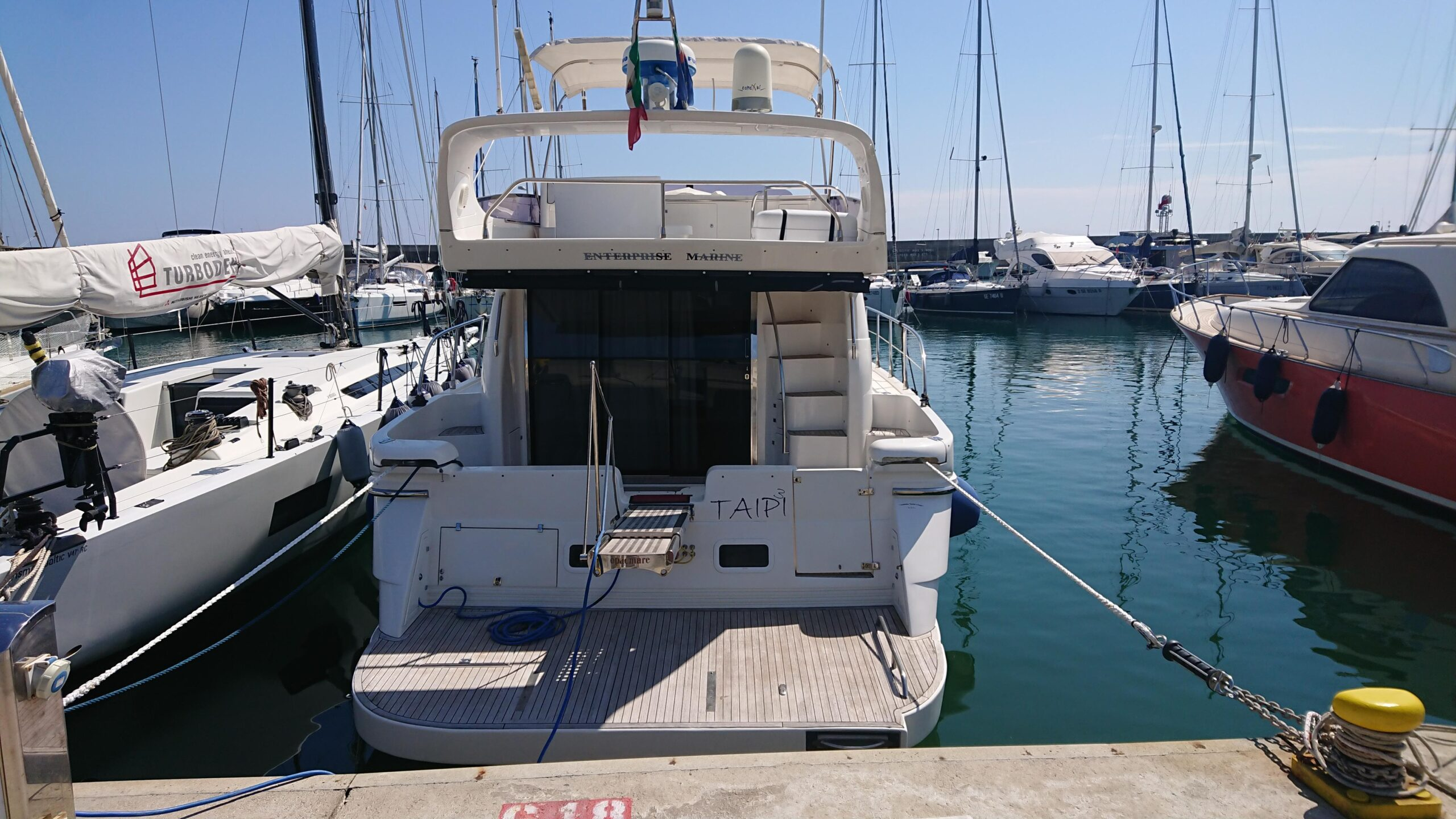 Meilentörns Motorboot Aussen 3