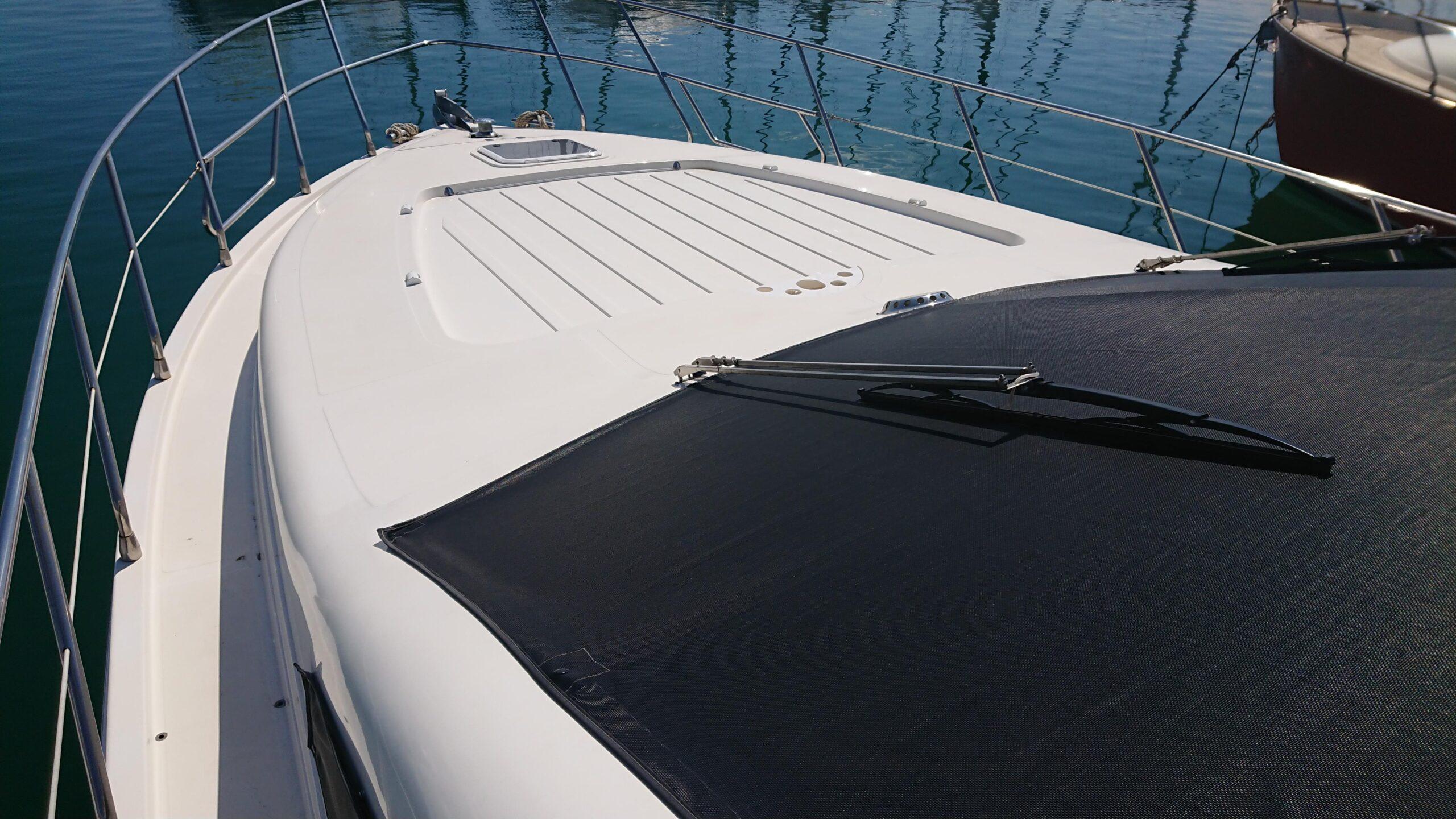 Meilentörns Motorboot Aussenansicht