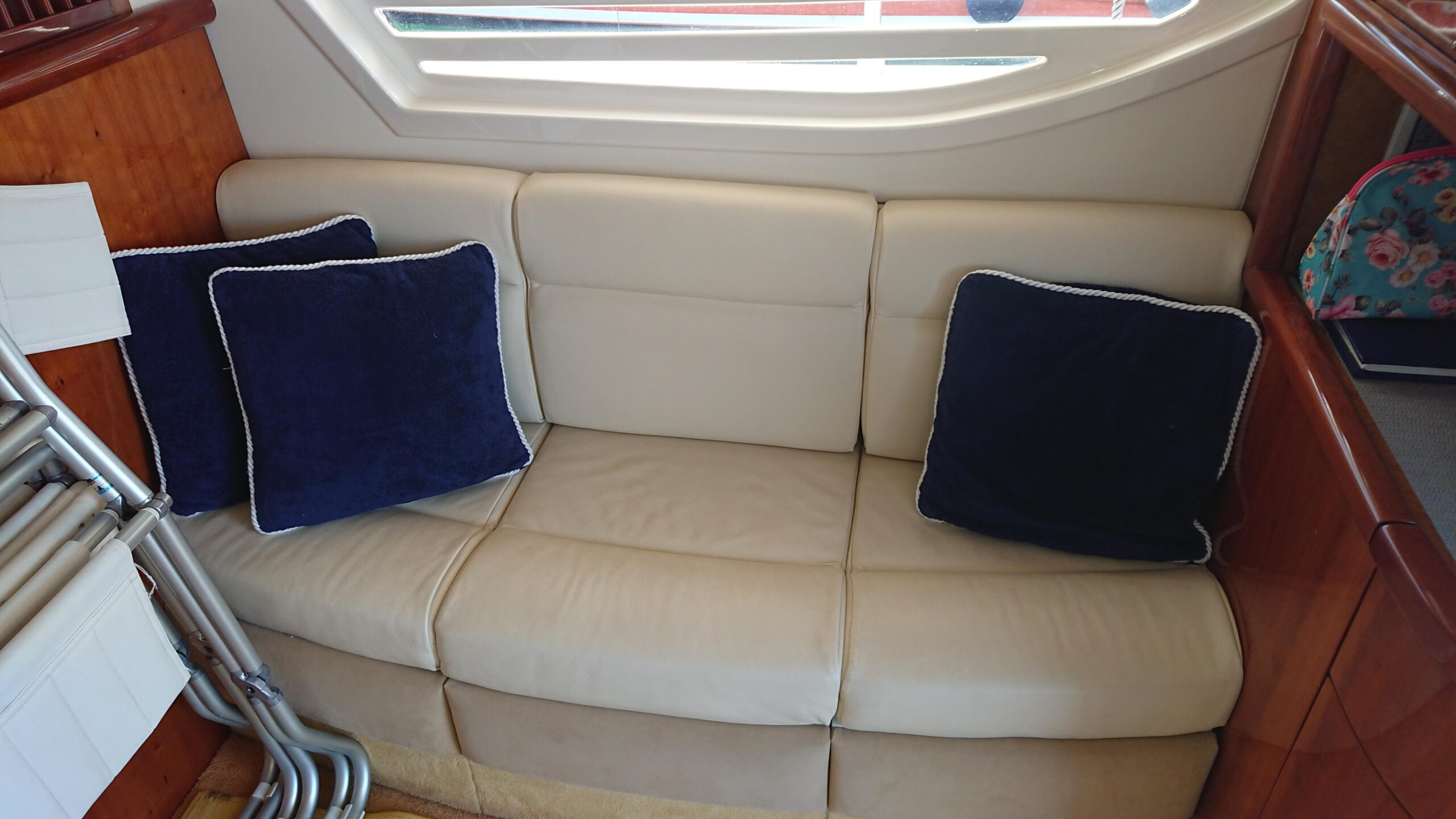 Meilentörns Motorboot Italien Dinette
