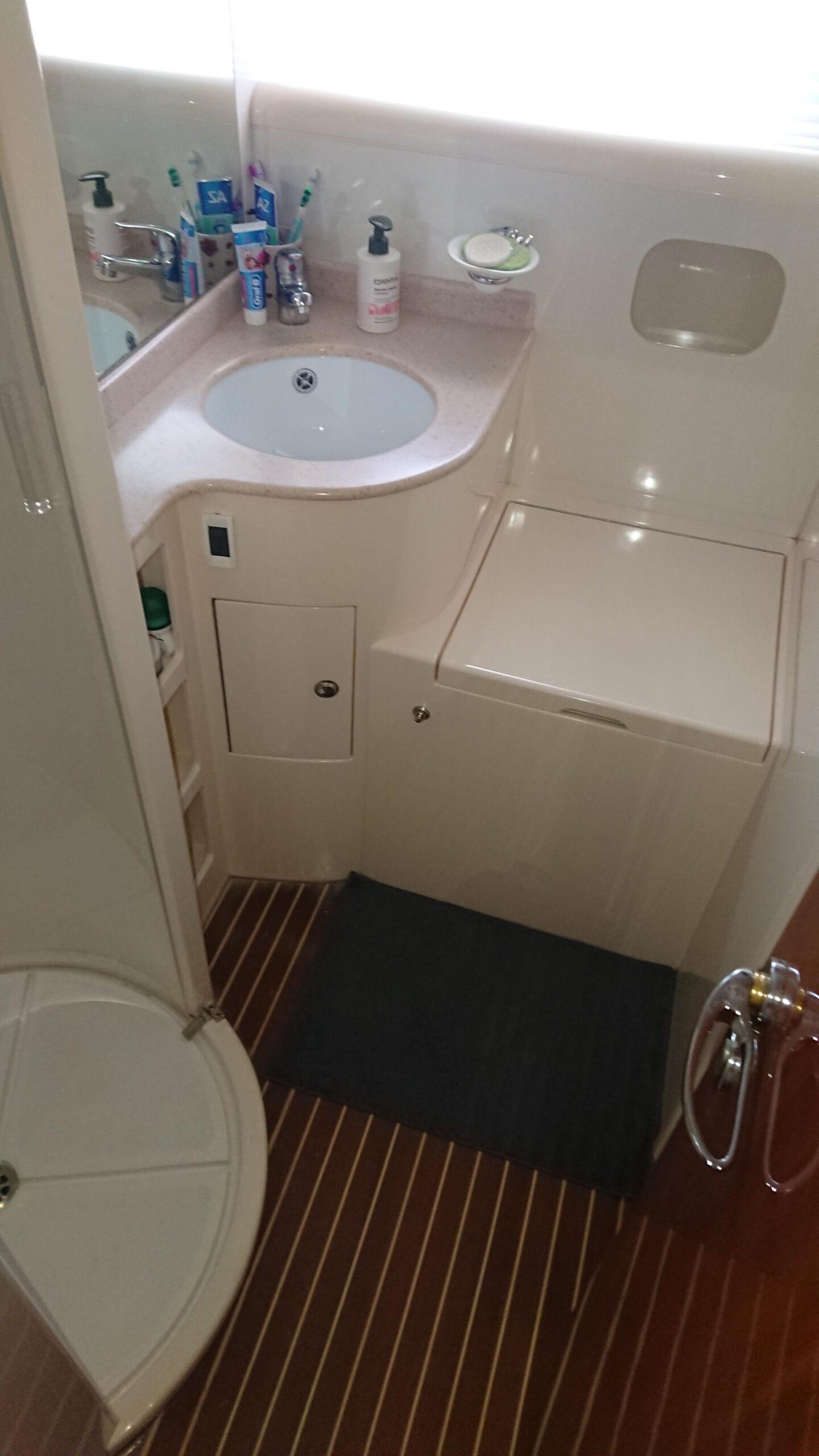 Meilentörns Motorboot Italien Sanitäre Anlagen