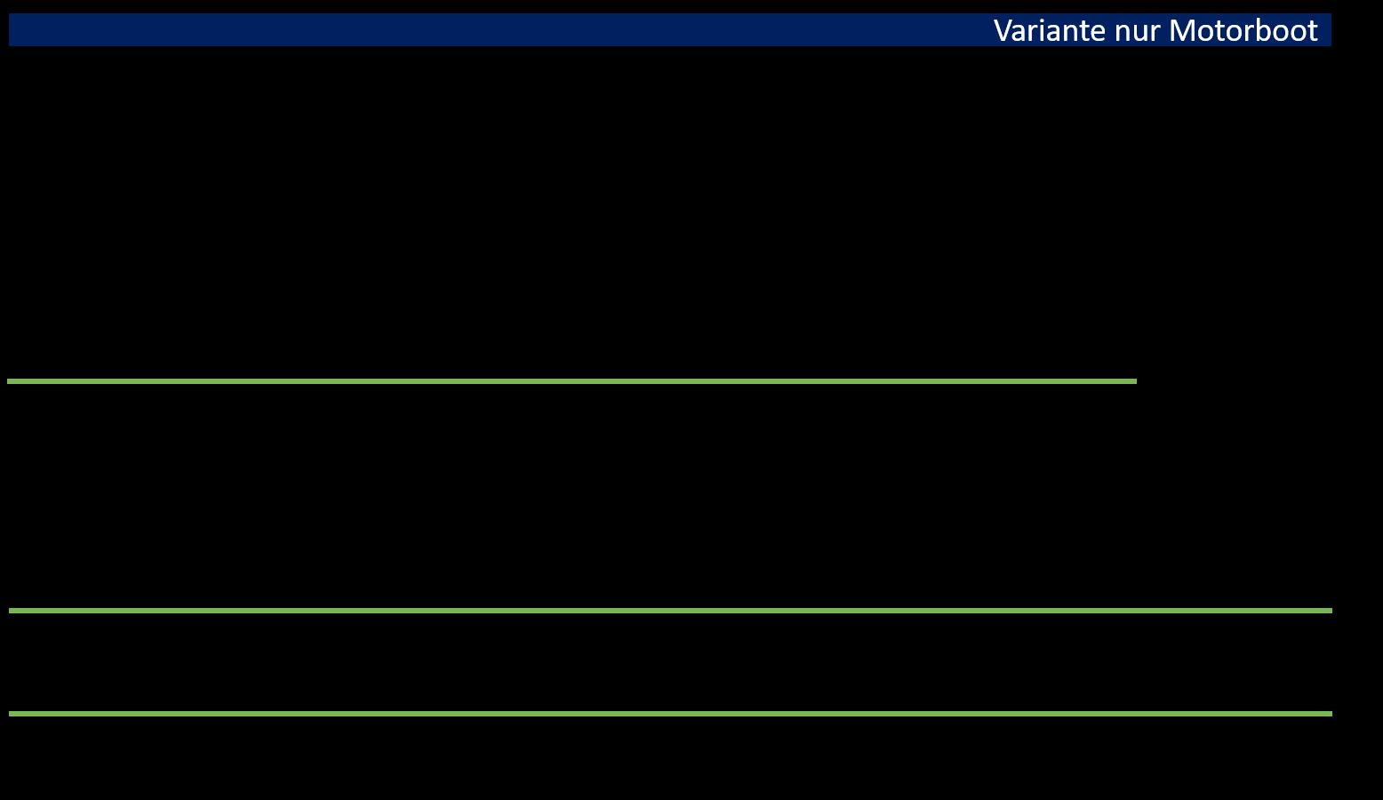 Zusammenstellung der Gesamtkosten für den Hochseeausweis Schweiz für die Kategorie Motorboot