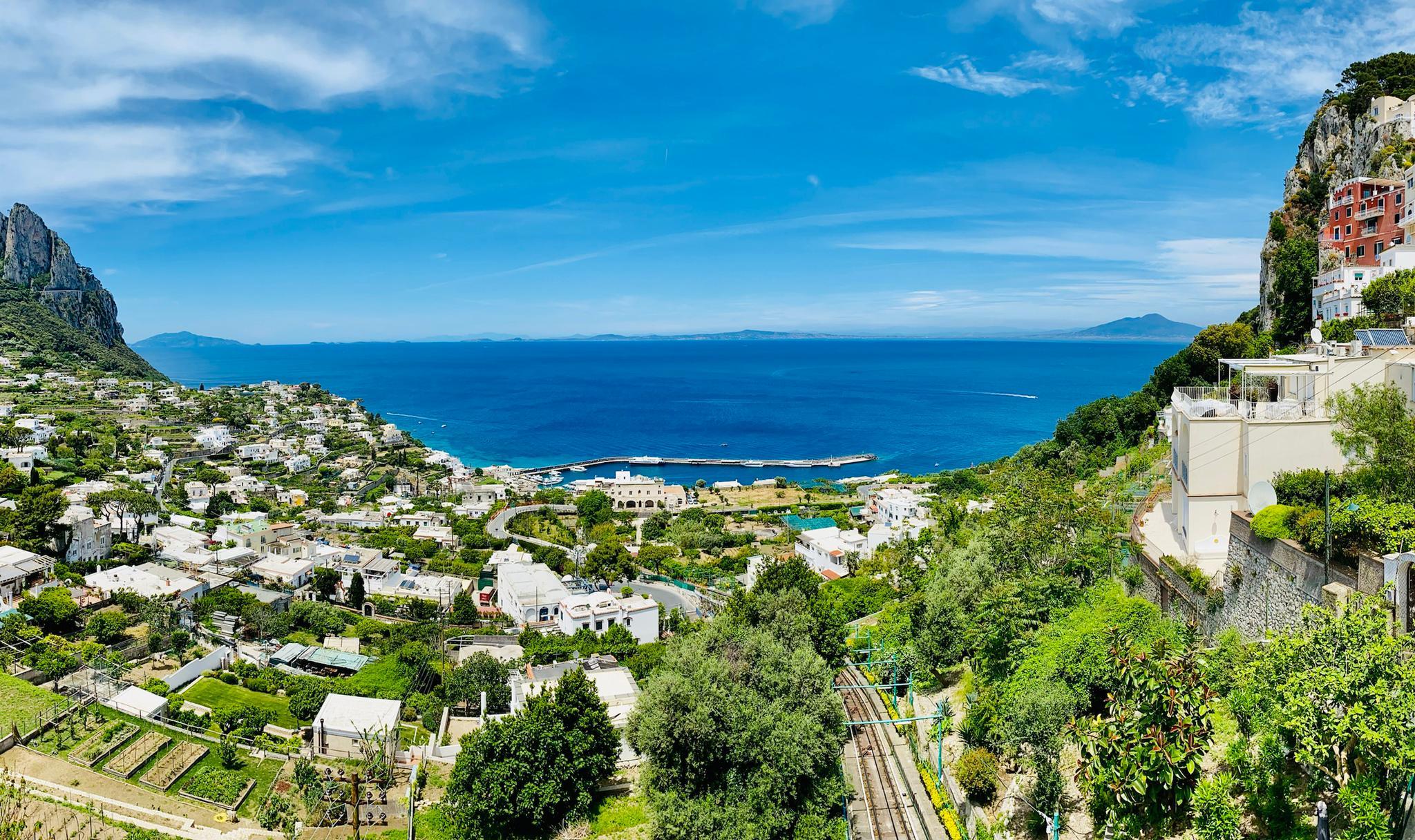 Pnorama aus Capri