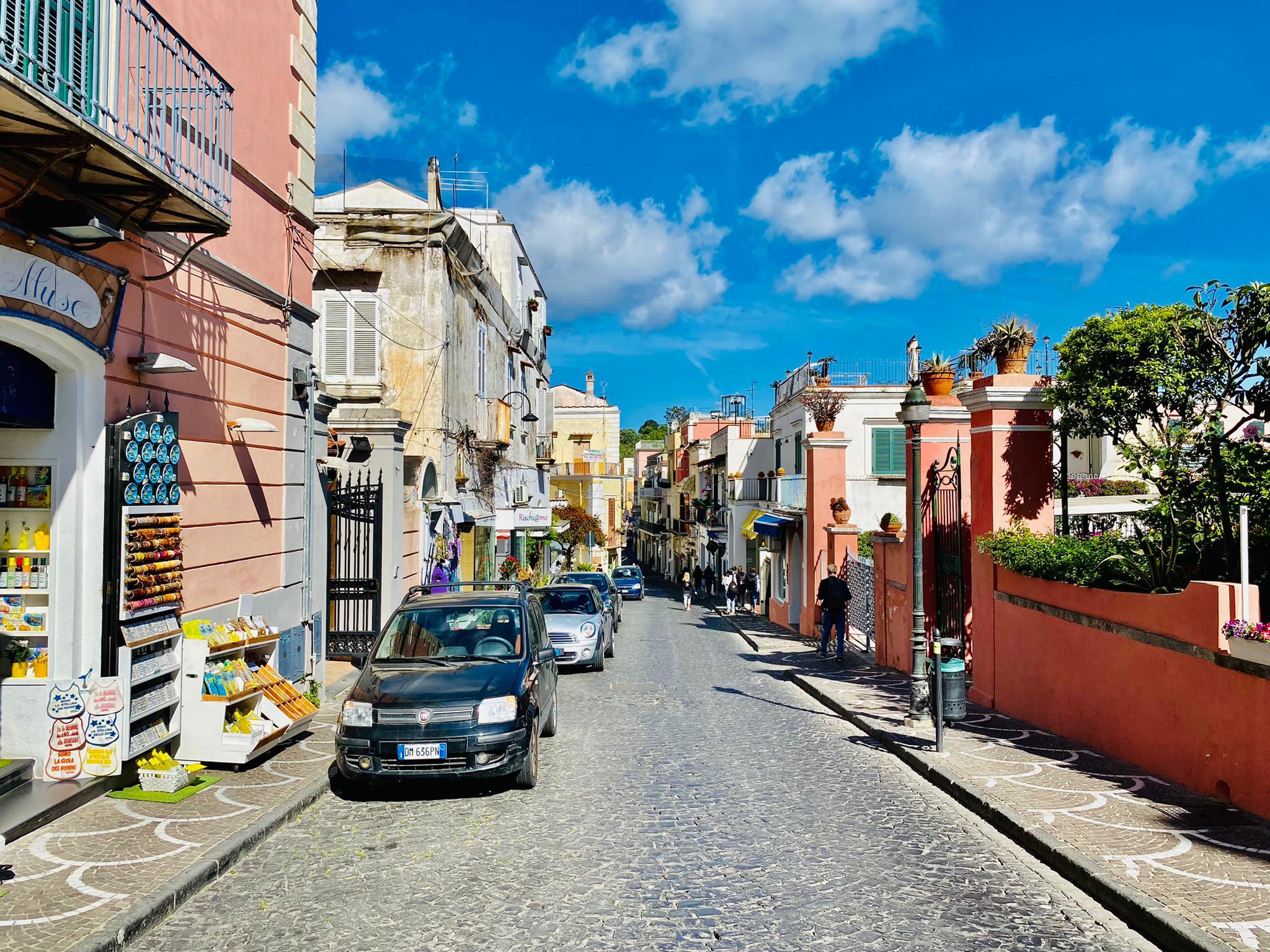 Stadtbesichtigung in Ischia