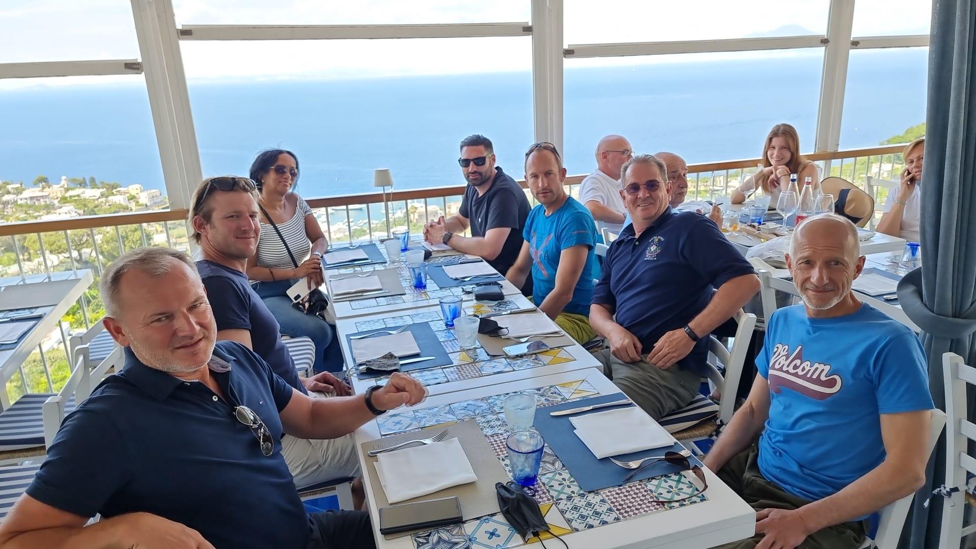 Ausflug nach Capri Meilentörn Juni 2021